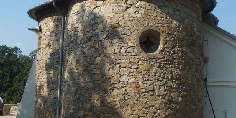 sGrzegorzowice -romańska rotunda